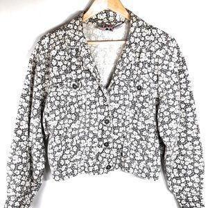 Blitz Vintage Jacket With Daisies